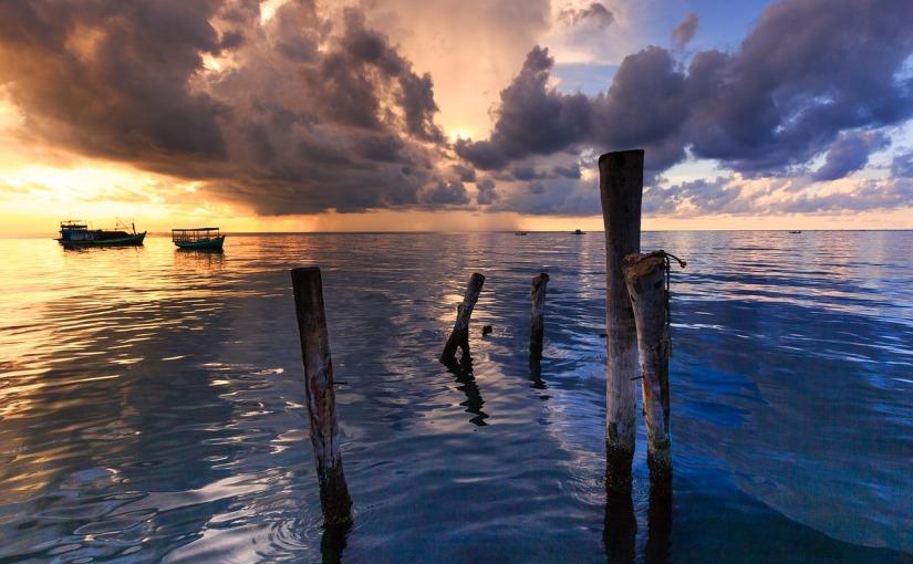 Hay veces, que el océano sepierde