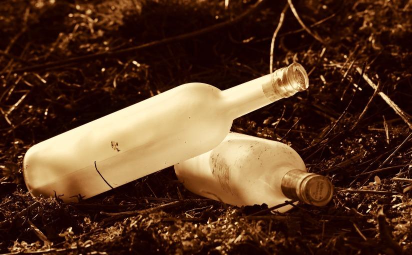 Dos botellas y undía